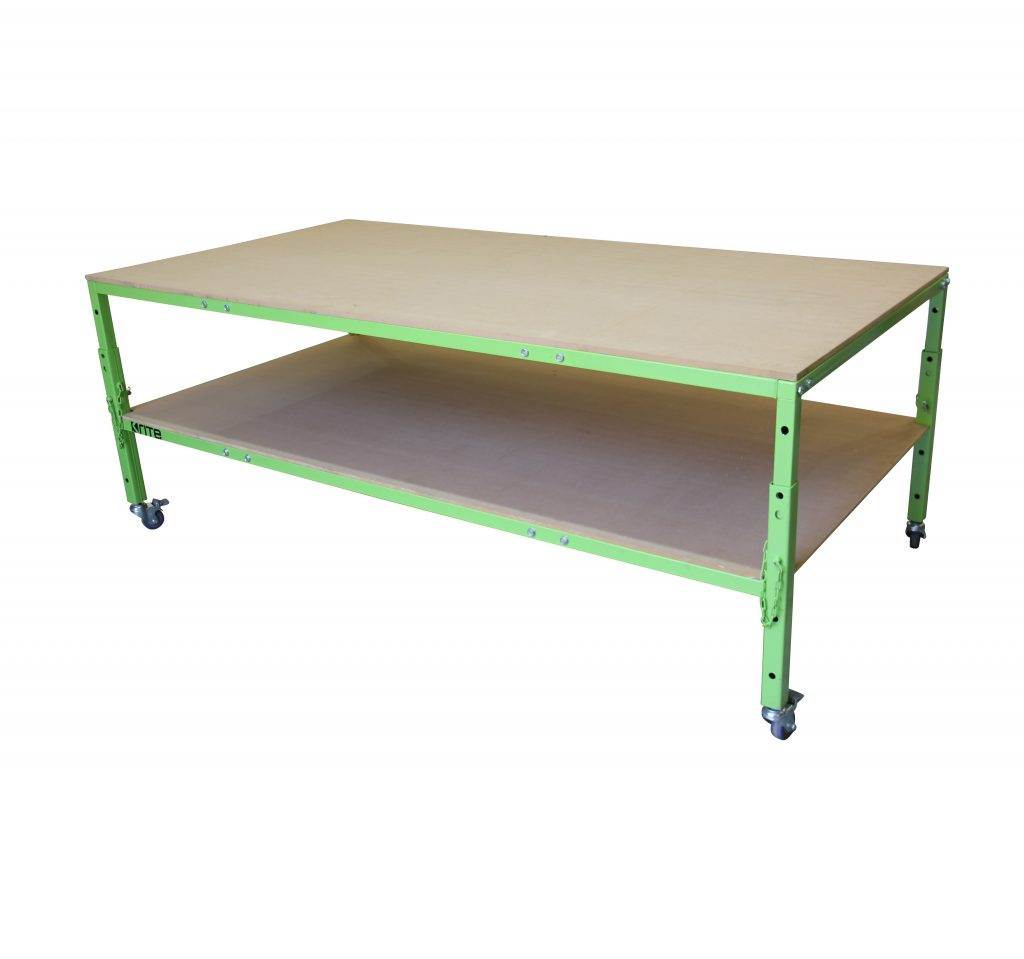 Store Banne Coffre K60 Rite Height Adjustable Work Table Eurotech Australia