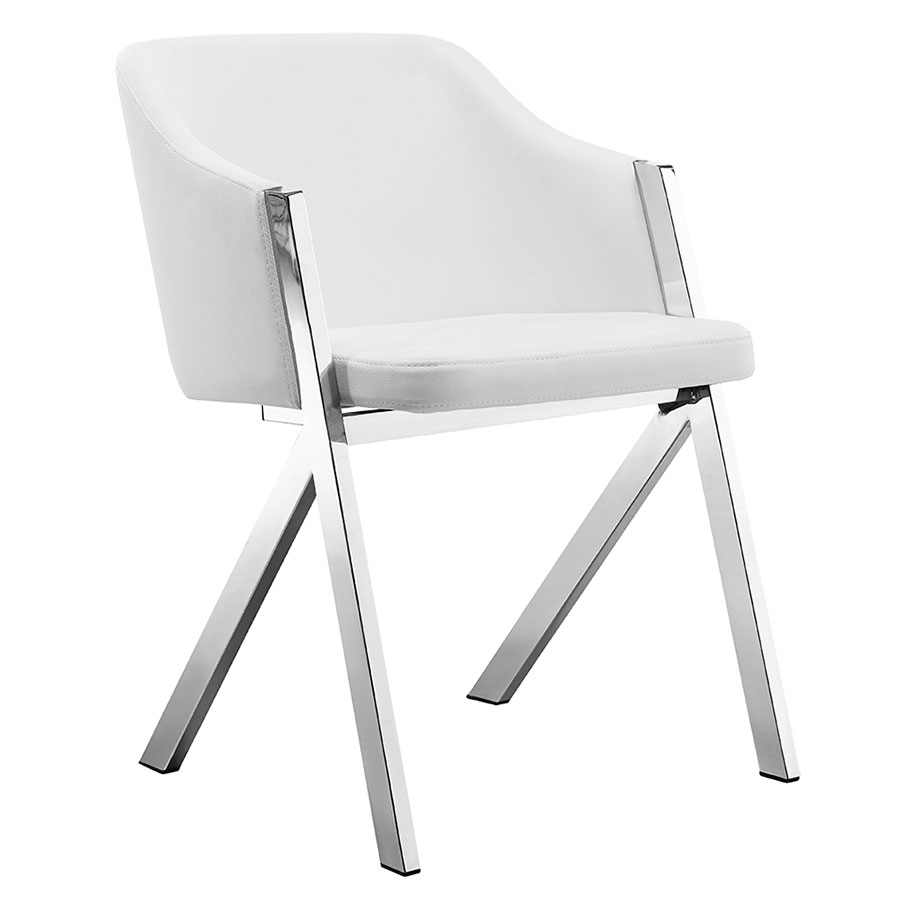 Arm Chairs Acrostic Arm Chair White