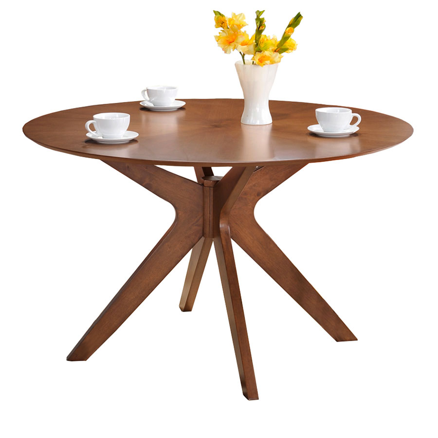 Round Dining Table With Extensions Balboa 47