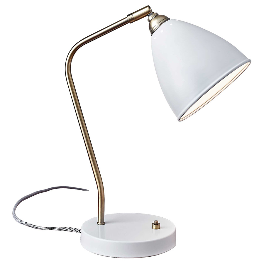 Desk Lamp Cadiz Desk Lamp White