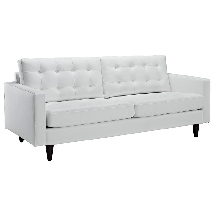 White Leather Couch Enfield Leather Sofa White