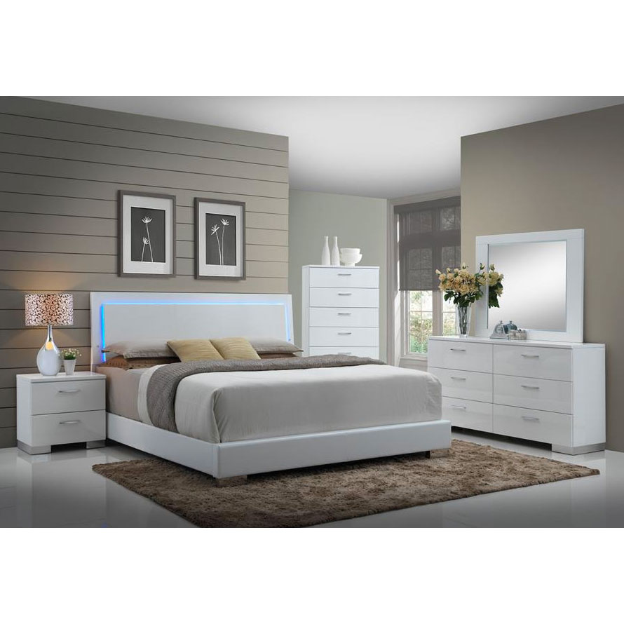 Bed Headboard Fredrika Bed Lighted Headboard