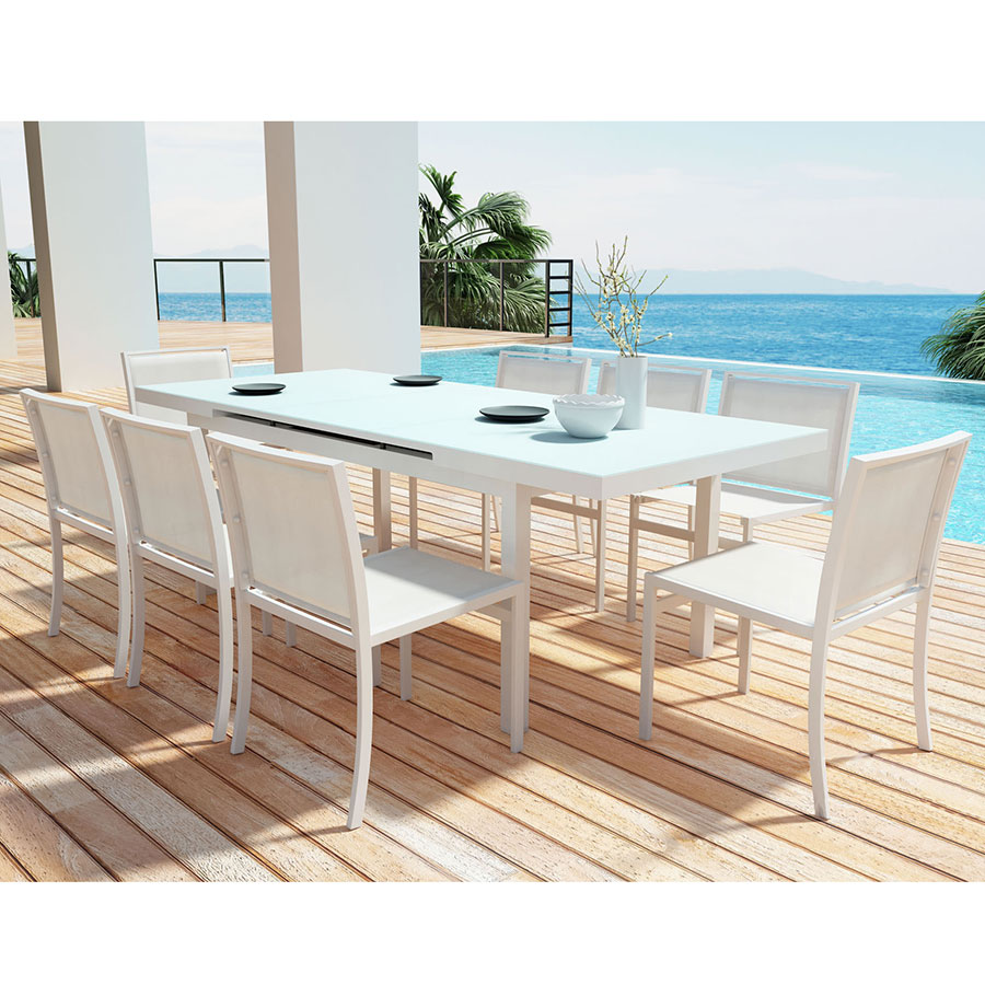 Modern Dining Set Mayakoba Outdoor Dining Table