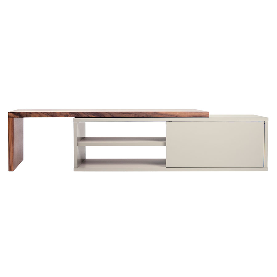 Tv Sideboard Modern Move Tv Stand Gray Walnut
