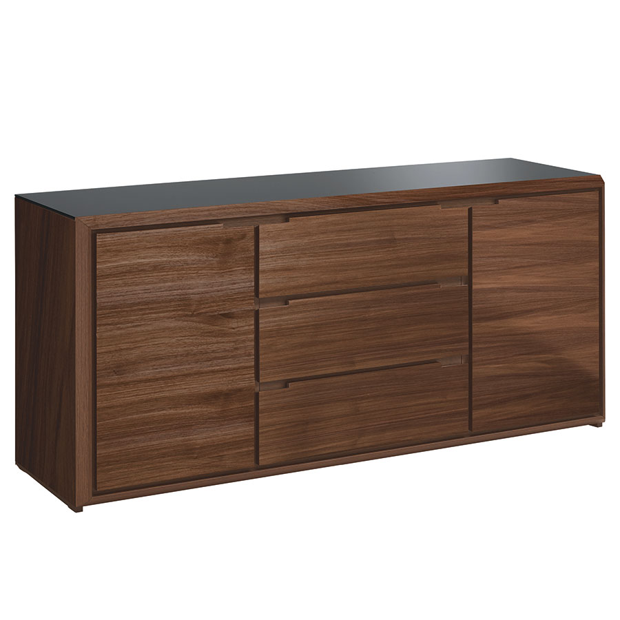 Nussbaum Sideboard Arden Walnut Modern Sideboard | Eurway Furniture
