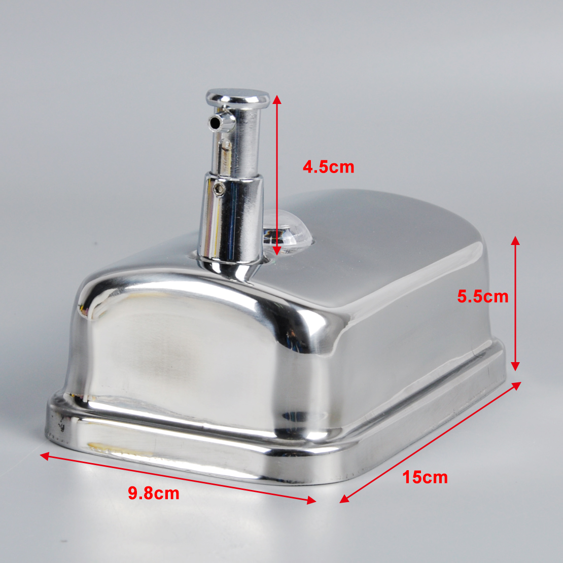 Metal Soap Dispenser Pump Bathroom Soap Shampoo Dispenser Wall Mounted Lotion Pump