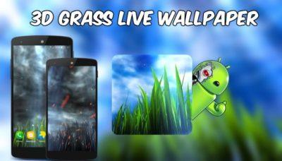 3D GRASS Live Wallpaper Full APK - Eu Sou Android