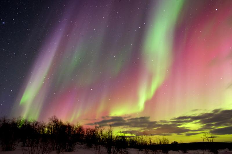 Dicas para caçar a aurora boreal na Escandinávia