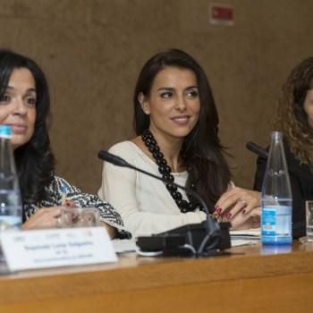 Luísa Salgueiro, deputada; Catarina Furtado, Embaixadora da Boa Vontade do UNFPA e Carla Martingo, vice presidente da Associação P&D Factor # © Hugo Amaral/Observador