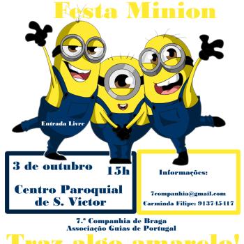 conviteFestaMinion