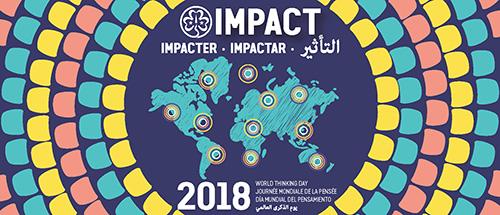 O Dia Mundial do Pensamento 2018 está aí a chegar