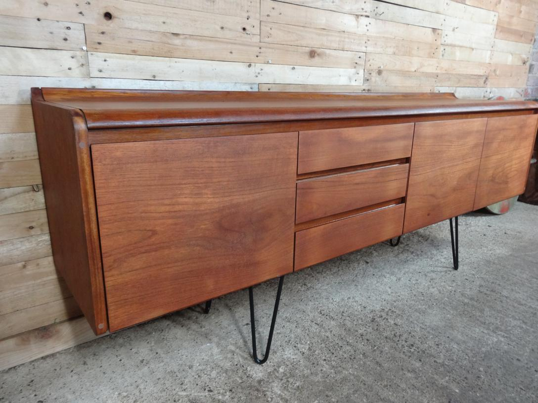 Vintage Sideboard Hairpin Legs Eu Vintage Specialise In Retro Vintage 1960s Furniture Teak Retro