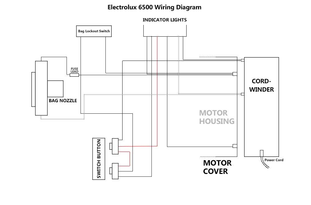 central vacuum motor wiring diagram