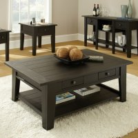 Black Coffee Table Sets for Unique Your Living Spaces Look ...