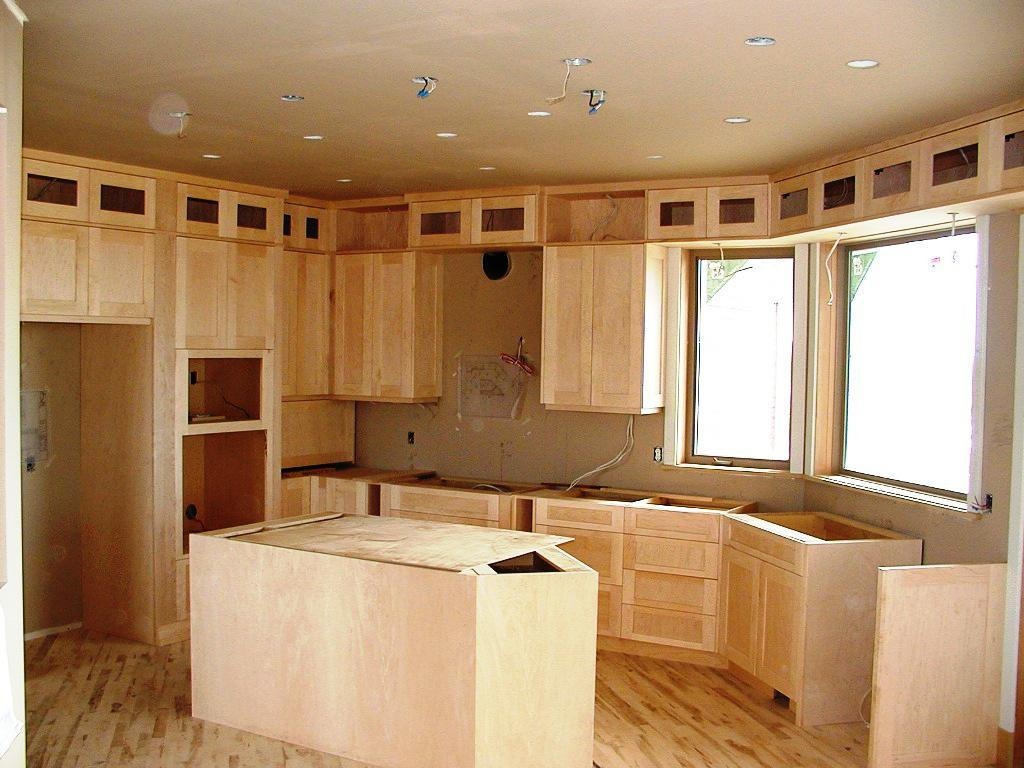 unfinished kitchen cabinet doors picture unfinished kitchen cabinet doors Honey Pine Shaker of Unfinished Kitchen Cabinet Doors