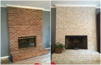 floor to ceiling fireplace makeover | Integralbook.com