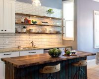 23 Rustic Kitchen Shelving Ideas for Modern Kitchen | EVA ...