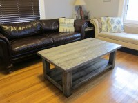 25 DIY Rustic Coffee Tables for Minimalist Living Room