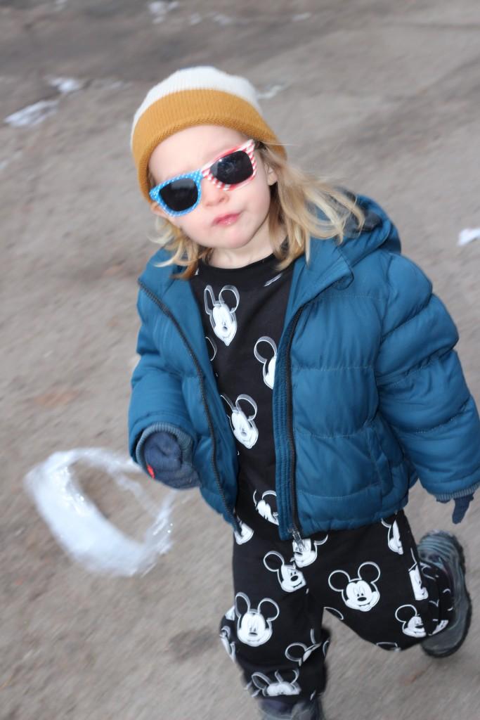thug life sunglasses mickey