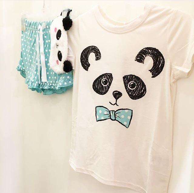 panda pyjama