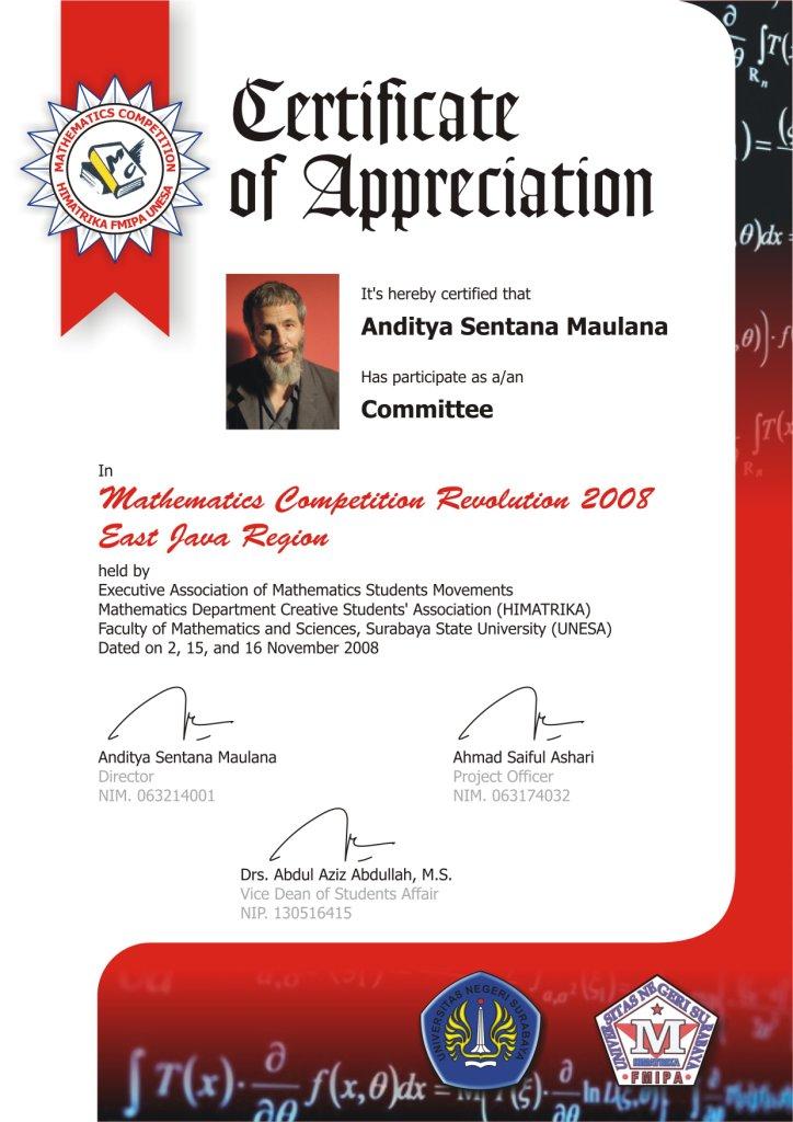 Contoh Try Out Sekolah Contoh Pelanggaran Ham Di Sekolah Youtube Sertifikat Guru Pendamping Mathematics Competition Revolution 2008