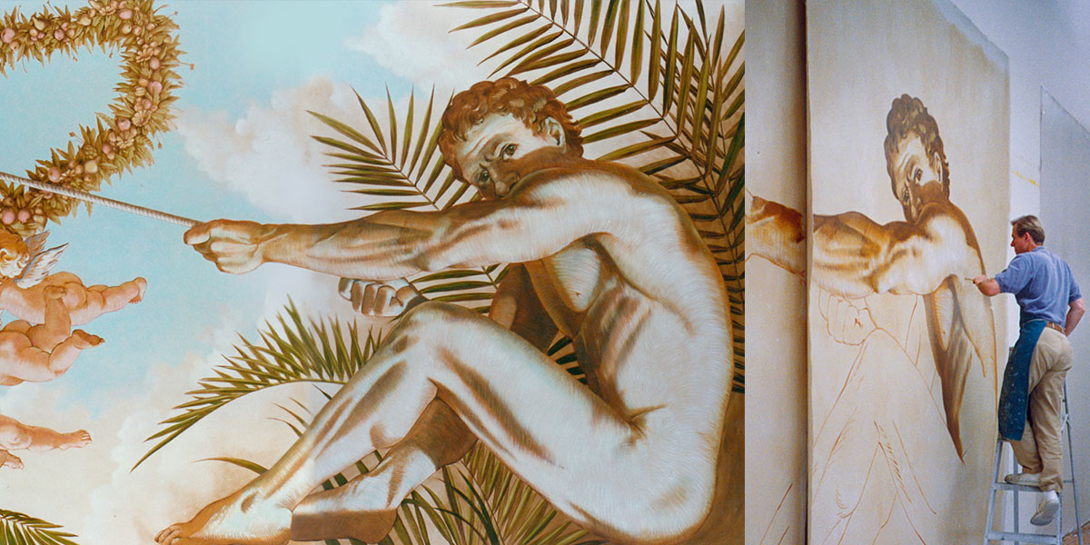 Masterly murals and wallcovering   Evans & Brown