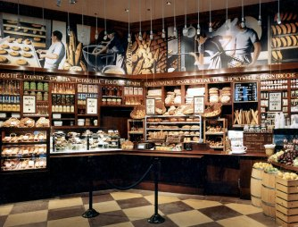 Bakery | Evans & Brown mural art
