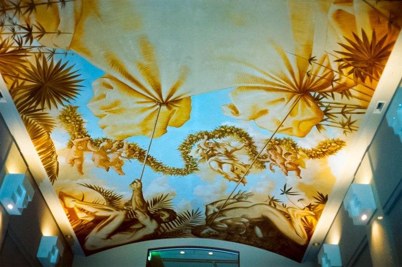 Sapporo hotel | Evans & Brown mural art