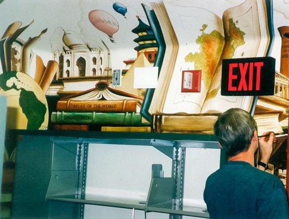Belvedere-Tiburon Library | Evans & Brown mural art