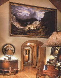 After Bierstadt | Evans & Brown mural art