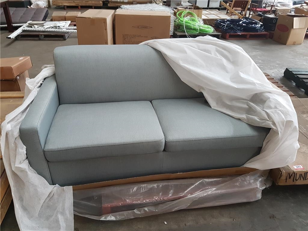 Sofa Open Box Sofa Bed Rada Y 249 Sofa Bed Seafoam 4 Zgm Fabric Rrp 898