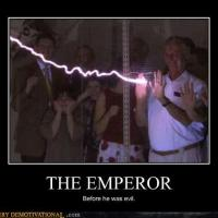 Emperor before evil
