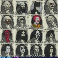 The many faces of George Washington