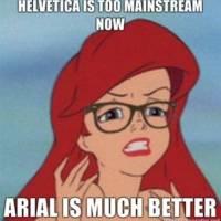 Arial > Helvetica