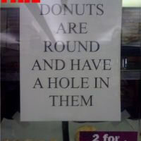 Donuts Description Fail