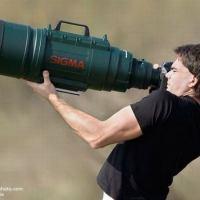 Crazy Huge Camera Lens