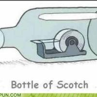 Bottle of Scotch