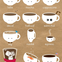 Coffee is cute!