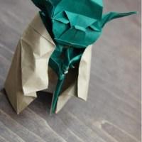 Origami level: Jedi