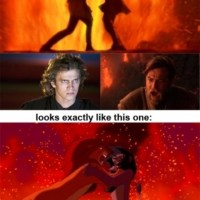Star Wars is like Lion King?