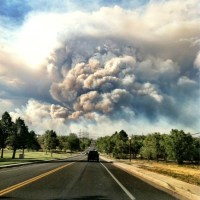 Colorado Springs, CO on fire
