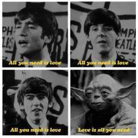 Yoda on the Beatles