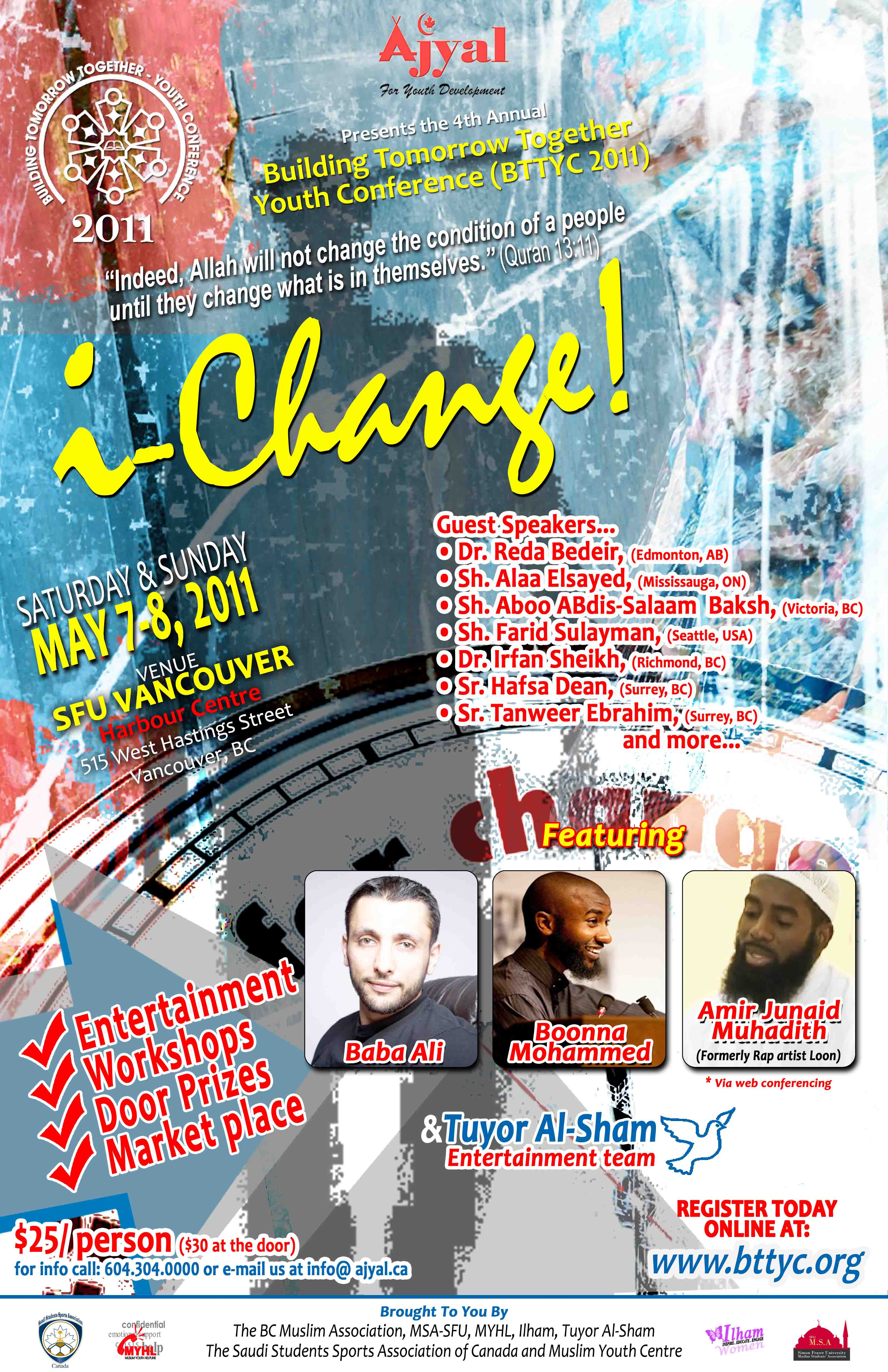 4th Annual Regional Muslim Youth Conference Tickets Vancouv