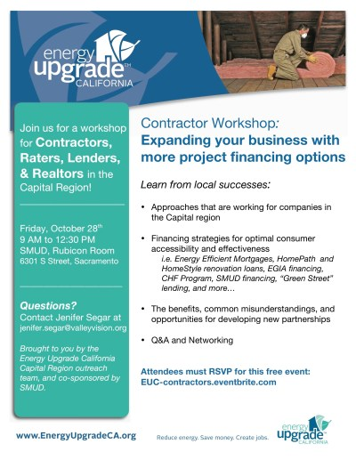 Contractor Workshop: Expanding your business with more project financing options Tickets, Fri ...