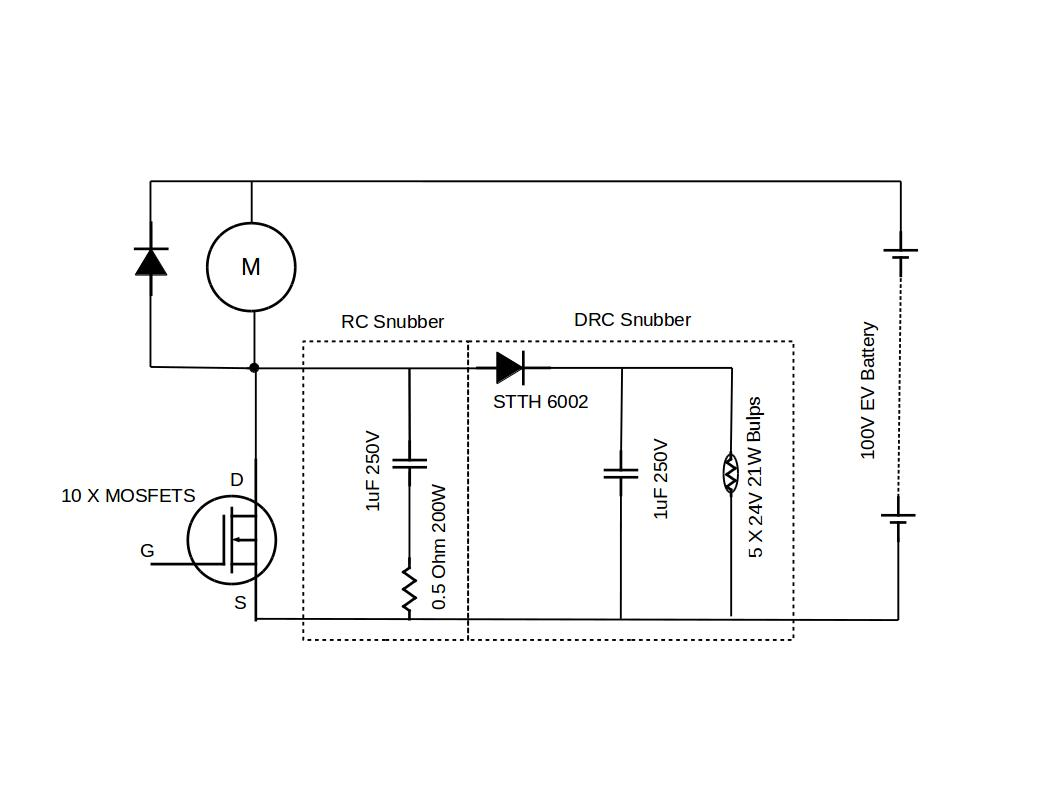 snubber circuits for power electronics