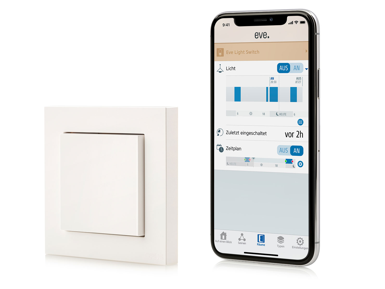 Lichtschalter Per App Steuern Eve Light Switch Evehome