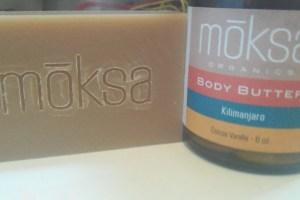 Moksa Organics Body Butter and Bar Soap Review
