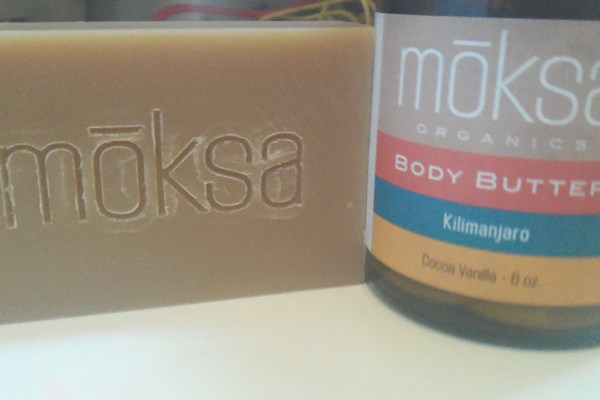 Moksa Organics Body Butter and Bar Soap Review