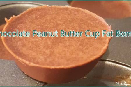 How to Make Chocolate Peanut Butter Cup Fat Bombs