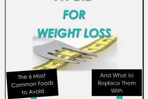 Free e-Booklet – Foods to Avoid for Weight Loss